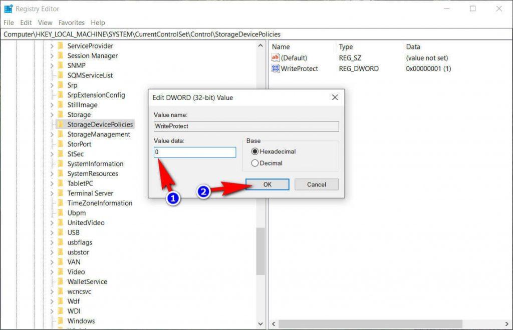 4 วิธีแก้ปัญหา The disk is write protected. 5