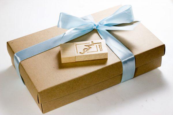 USB + Craft Paper Box 1