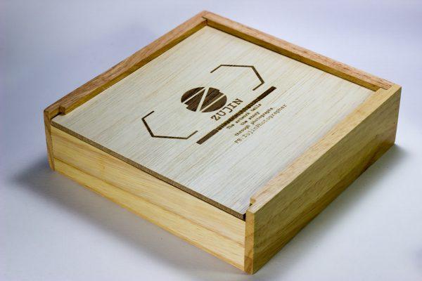 Qbox + USB maple + Laser Logo 2