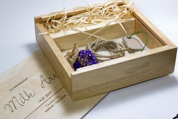 qbox กล่องใส่แฟลชไดร์ฟและภาพ