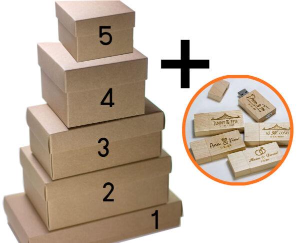 craft box and maple usb