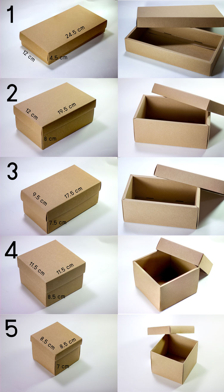 craft box and size