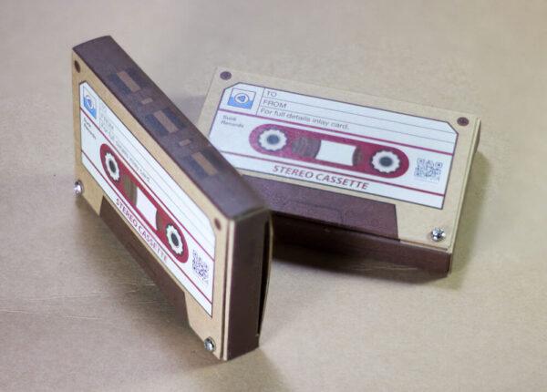 กล่องเทปจากกระดาษคราฟ